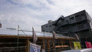 屋根の断熱工事+遮熱工事
