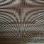 杉の天井材「杉木口スリット材」
